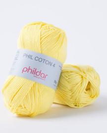 Phildar Coton 4 Citron
