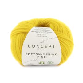 Katia Concept Cotton merino Fine 91 - Geel