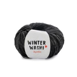 Katia Winter Washi 212 - Leigrijs-Zwart