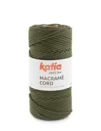 Katia Macramé Cord 117 - Olijfgroen