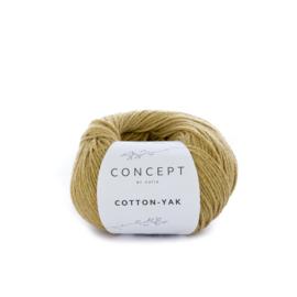 Katia Concept Cotton-Yak 118 - Mosterdgeel