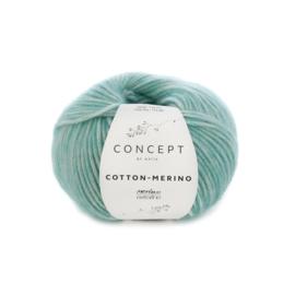 Katia Concept Cotton - Merino 129 - Licht groen