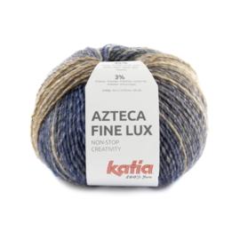 Katia Azteca Fine Lux 413 - Bruin-Oceaanblauw