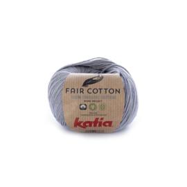 Katia Fair Cotton 26 - Medium grijs