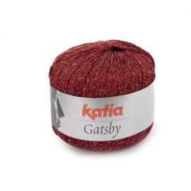 Katia Gatsby 16 - Wijnrood-Goud