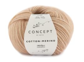 Katia Concept Cotton - Merino 137 - Medium bleekrood