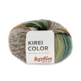 Katia Kirei color 303 - Bleekgroen-Bruin-Waterblauw