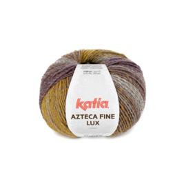 Katia Azteca Fine Lux 406 - Parelmoer-lichtviolet-Oker