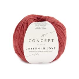 Katia Concept Cotton in Love 61 - Rood