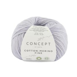 Katia Concept Cotton merino Fine 86 - Licht lila