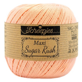 Scheepjes Maxi Sugar Rush 523 Pale Peach