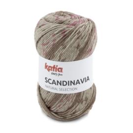 Katia Scandinavia 201 - Bleekrood-Reebruin
