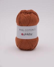 Phildar coton 3 Caramel
