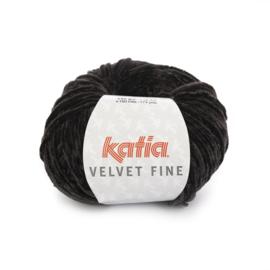 Katia Velvet Fine 211 - Zwart