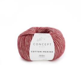 Katia Concept Cotton - Merino 125 - Wijnrood