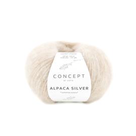 Katia Concept Alpaca Silver 268 - Zeer licht beige-Zilver