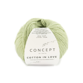 Katia Concept Cotton in Love 58 - Pistache-Resedagroen