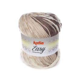 Katia Easy Jacquard 302 - Bruin-Beige