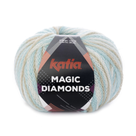 Katia Magic Diamonds 55 - Hemelsblauw-Ecru-Beige