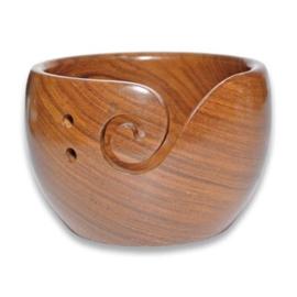 Durable houten yarn bowl 020.1064