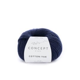 Katia Concept Cotton-Yak 115 - Donker blauw