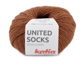 Katia United Socks 2 - Roestbruin
