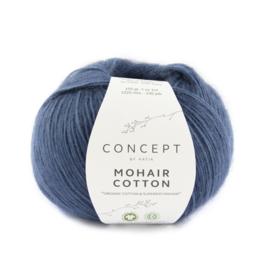 Katia Concept Mohair cotton 83 - Saffierblauw