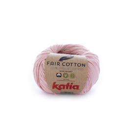 Katia Fair Cotton 13 - Lichtroze