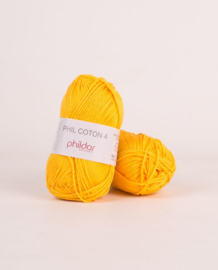 Phildar Coton 4 Jaune D or
