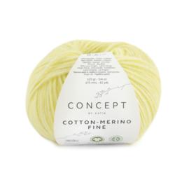 Katia Concept Cotton merino Fine 83 - Licht geel