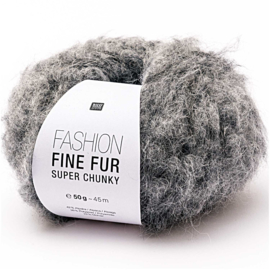 Rico Fashion Fine Fur Super Chunky 005 grijs