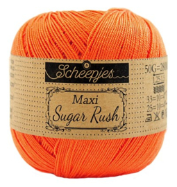 Scheepjes Maxi Sugar Rush 189 Royal Orange