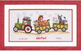 Tractor met dieren Aida
