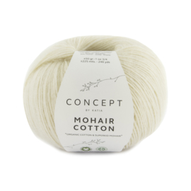 Katia Concept Mohair cotton 70 - Ecru