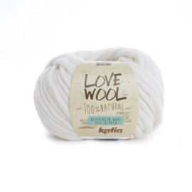 Katia Love Wool 100 - Ecru