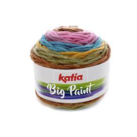 Katia Big Paint 208 - Bleekrood-Groen-Oker