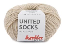 Katia United Socks 4 - Beige