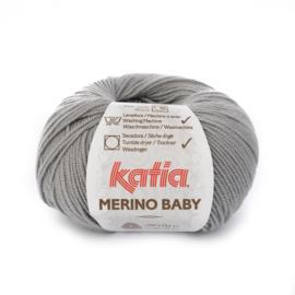 Katia Merino Baby 70 - Licht grijs