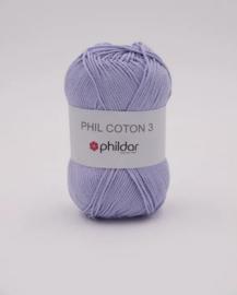 Phildar coton 3 Parme
