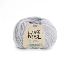 Katia Love Wool 105 - Parelmoer-lichtgrijs