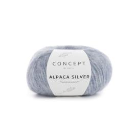 Katia Concept Alpaca Silver 253 - Pastelblauw-Zilver