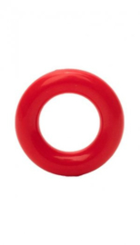 Durable plastic ringetjes rood 20 mm (722)