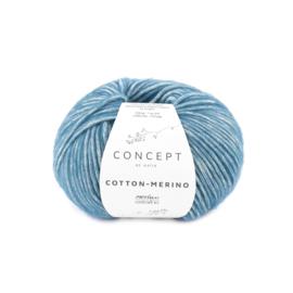 Katia Concept Cotton - Merino 133 - Blauw