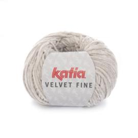 Katia Velvet Fine 208 - Licht grijs