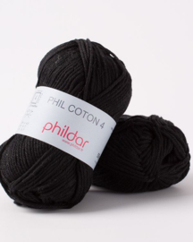 Phildar Coton 4 Noir