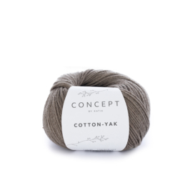 Katia Concept Cotton-Yak 103 - Bruingrijs