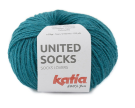 Katia United Socks 23 - Groenblauw