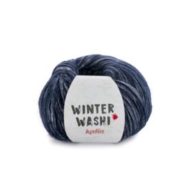 Katia Winter Washi 211 - Duifblauw-Donker blauw