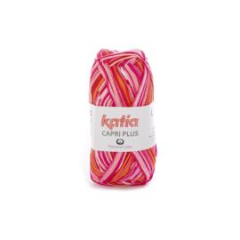 Katia Capri Plus 109 - Bleekrood-Fuchsia-Oranje