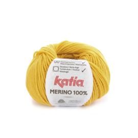 Katia Merino 100% 63 - Mosterdgeel
